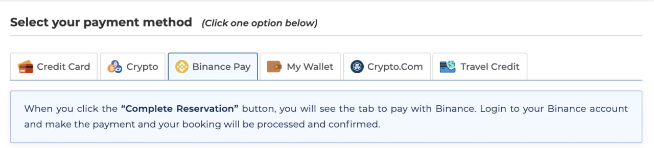 Image: Select your payment method